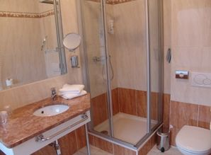 euh, een badkamer ...