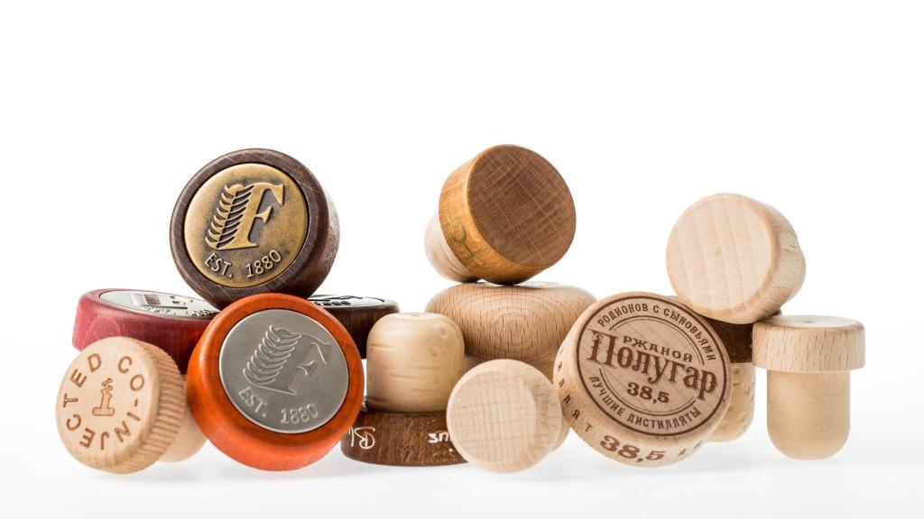 Kunsstof T-kurken houten kop
